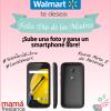 ¡Sube una foto y gana un teléfono inteligente libre de Walmart!