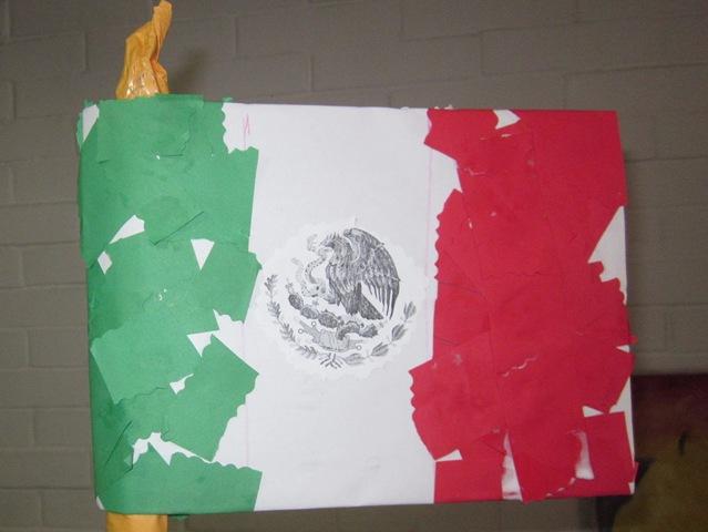 Actividad Niños Pequeños Hacer Bandera De México Mamá Freelance